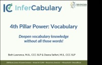 Fourth Pillar Power: Deepen Vocabulary Knowledge Without All Those Words!