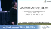 Assistive Technology: What the Research Says About Which Technologies Support Learners With Dyslexia