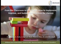 From the Classroom to the Capital: How to Implement, Improve, and Sustain Best Practices for Literacy