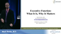 Executive Function: What It Is and Why It Matters