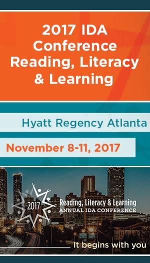 2017 Reading, Literacy & Learning Virtual Conference