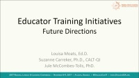 IDA Educator Training Initiatives: Future Directions in Standards-Based Accreditation and Certification Practices