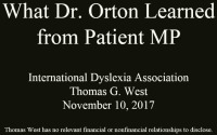 What Dr. Orton Learned From Patient MP