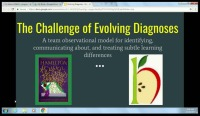 The Challenge of Evolving Diagnoses