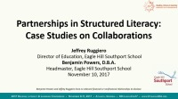 Partnerships in Structured Literacy: Case Studies on Collaborations