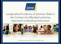 Longitudinal Evidence of Summer Slide for Elementary Age Students in the Context of an Effective Blended-Learning Approach to Reading Instruction