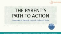 The Parent's Path to Advocacy