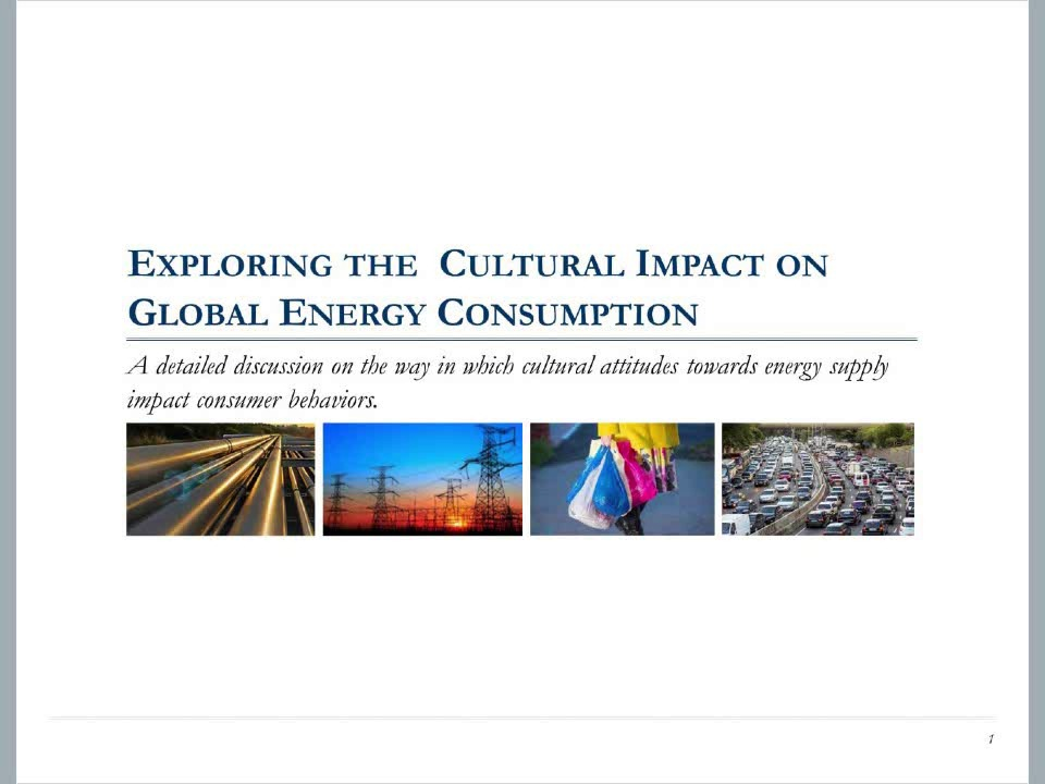 Exploring the Cultural Impact on Global Energy Consumption
