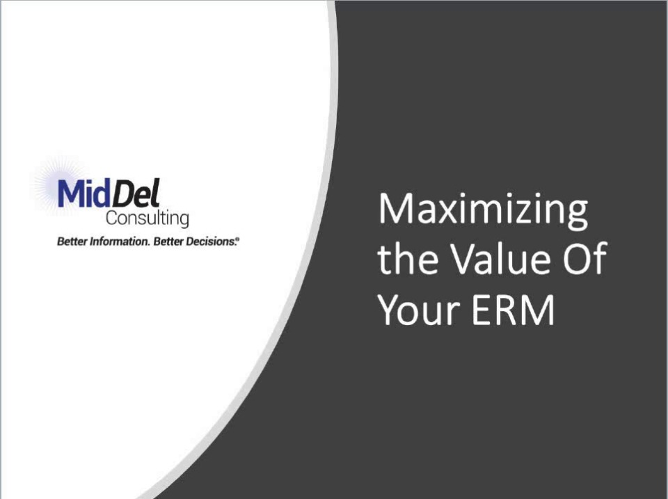 How to maximize the value of your ERM system(s)