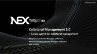 triResolve Sponsored Webinar: Collateral Management 2.0 - A New World for Collateral Management