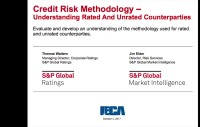 Credit Risk Methodology – Understanding Rated and Unrated Counterparties