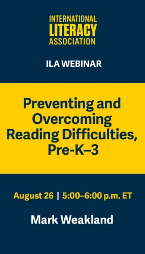 Preventing and Overcoming Reading Difficulties, Pre-K-3