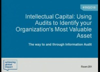 Intellectual Capital: Using Audits to Identify Your Organization's Most Valuable Asset
