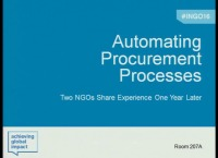 Automating Procurement Processes: Two NGOs Share Experiences One Year Later