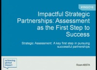Impactful Strategic Partnerships: Assessment as the First Step to Success