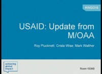 USAID: Update from M/OAA