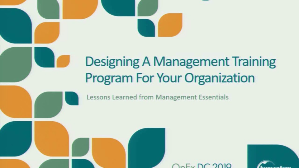 Designing a Management Training Program for Your Organization
