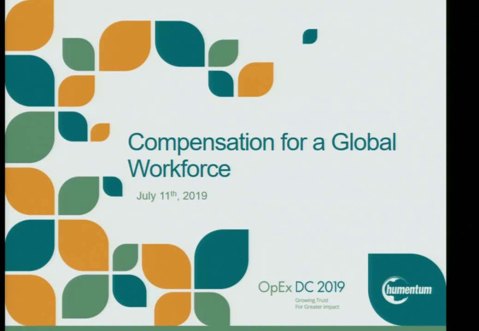 Compensation for a Global Workforce
