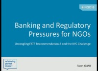 Banking & Regulatory Pressures for NGOs: Untangling FATF Recommendation 8 & the KYC Challenge
