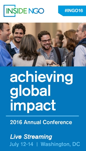 InsideNGO 2016 Annual Conference: Achieving Global Impact
