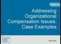 Addressing Organizational Compensation Issues: Case Examples