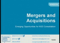 Mergers and Acquisitions: Emerging Opportunities for NGO Consolidation?