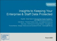 Insights to Keeping Your Enterprise & Staff Data Protected