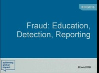 Fraud: Education, Detection, Reporting