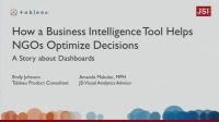 How a Business Intelligence Tool Helps NGOs Optimize Decisions