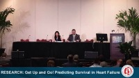 RESEARCH SESSION 30: Get Up and Go! Predicting Survival in Heart Failure