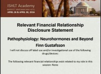 CORE COMPETENCIES IN HFTX -- SESSION 1: Pathophysiology: Neurohormones and Beyond