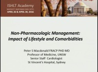 CORE COMPETENCIES IN HFTX -- SESSION 3: Non-Pharmocologic Management: Impact of Lifestyle on Comorbidities