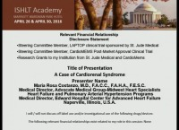CORE COMPETENCIES IN HFTX -- LUNCH SESSION: Case Presentation: Cardiorenal Syndrome: What is it and How is it Treated?