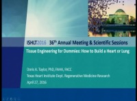 PRE-MEETING SYMPOSIUM 06: Back to the Future: Cell Therapy for Thoracic Organ Failure and Transplant? -- Tissue Engineering for Dummies: How to Build a Heart or Lung