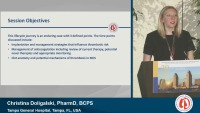 SUNRISE SYMPOSIUM 03: Lifecycle Journey of Thrombosis in Mechanical Circulatory Support Patients