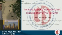SUNRISE SYMPOSIUM 01: Walk With Me: Exercise Physiology in the LVAD Patient