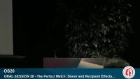 ORAL SESSION 26 - The Perfect Match: Donor and Recipient Effects on Pediatric Thoracic Outcomes