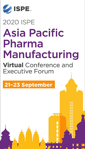 2020 ISPE APAC Pharma Manufacturing Virtual Conference