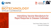 Intensifying Vaccine Manufacture for Rapid Response to Disease Outbreaks