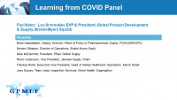 Learning from COVID Panel