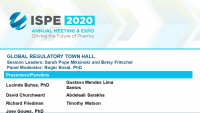 Global Regulatory Town Hall - The Impact of a Pandemic on Harmonization and Convergence