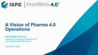 A Vision of Pharma 4.0 Operations