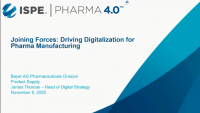 Joining Forces: Driving Digitalization for Pharma Manufacturing