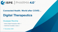 Connected Health - World after COVID - Digital Therapeutics