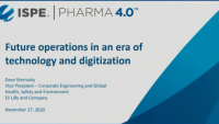 Lilly's Perspective on Future Operations in the New Era of Digitisation and AI