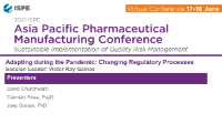 Adapting During the Pandemic: Changing Regulatory Processes  icon