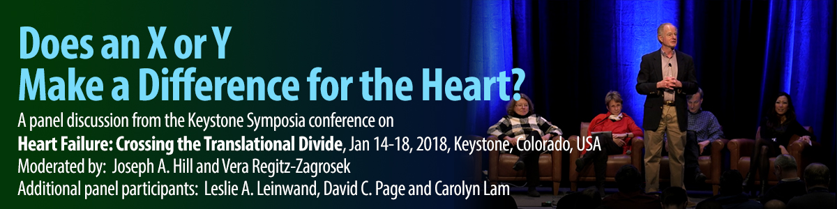 Does an X or Y Make a Difference for the Heart?