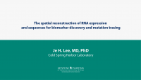 The spatial reconstruction of RNA expression and sequences for biomarker discovery and mutation tracing