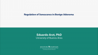 Regulation of Senescence in Benign Adenoma