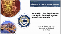 Short Talk: Neuropilin-1 Is a T Cell Memory Checkpoint Limiting Long-Term Anti-Tumor Immunity